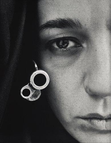 Shirin Neshat, Speechless, 1996. © LACMA
