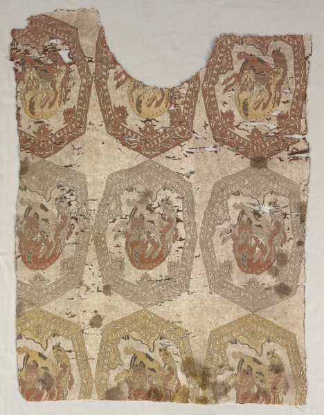 Back of a Tunic, 1950 (after) (originally thought Buyid), Cleveland Museum of Art, accession number 1982.23b