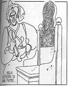 Ibn Battuta. Hugo Pratt, 'Sirat al-Bunduqiyya', p. 69 © Hugo Pratt