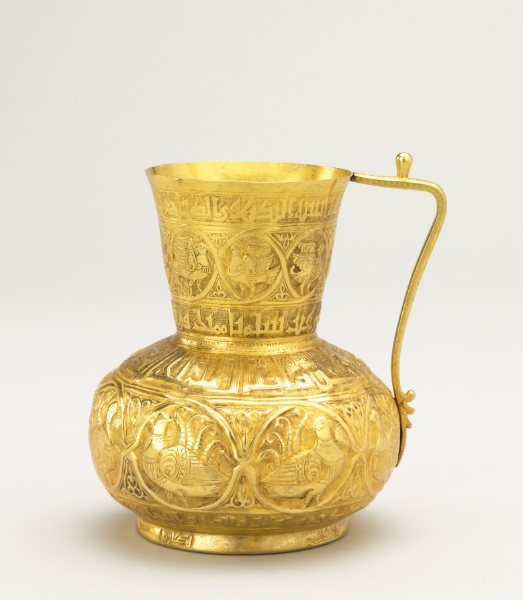 Gold Jug, Cleveland Museum of Art, accession number 66.22 - © Cleveland Museum of Art