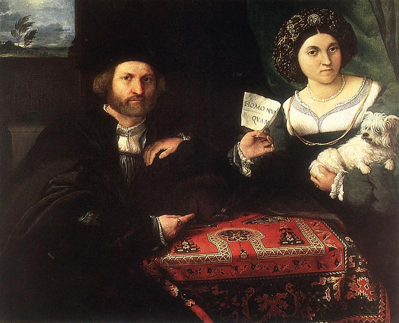 Lorenzo Lotto's Husband and Wife, 1523 | WikiCommons