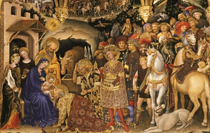 Gentile da Fabriano, Adoration of the Magi (Adorazione dei Magi), 1423