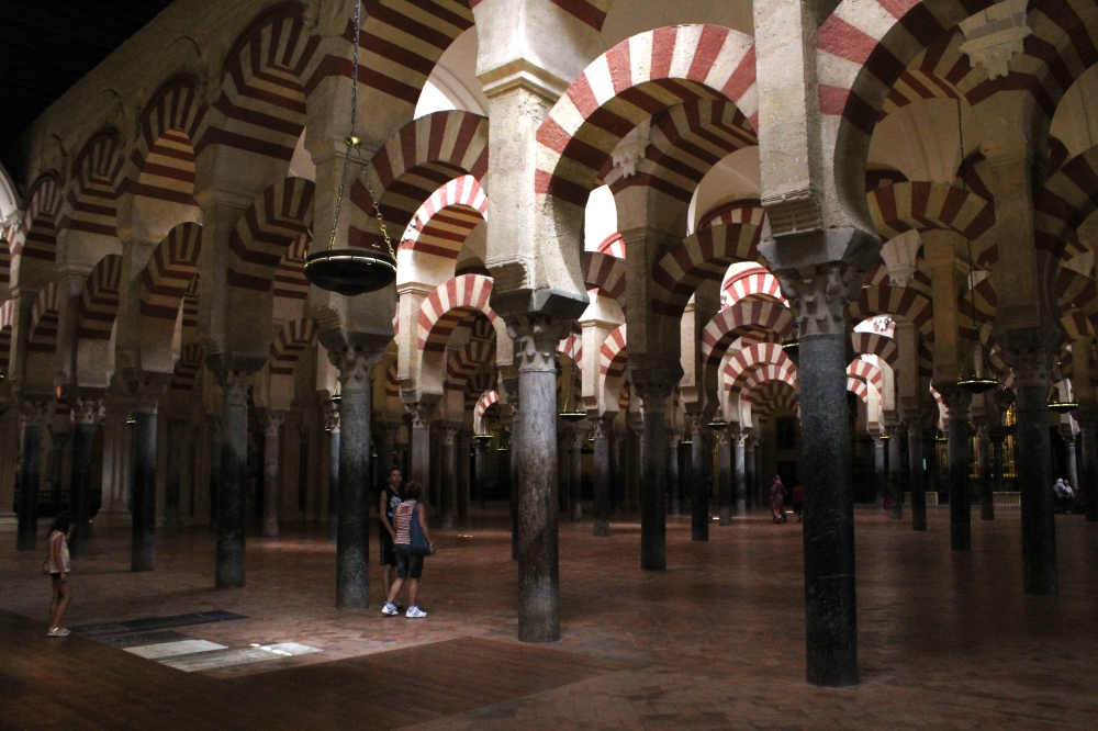 The Mosque of Cordoba, Spain. Photo courtesy f Thierry Fétiveau.